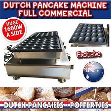 Commercial Electric Poffertje Mini Dutch Pancake Machine Maker Waffle 50pcs NEW