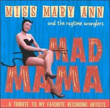 Miss Mary Ann Ragtime Wranglers Mad Mama 50's Rock Rockabilly Music Rare OOP CD