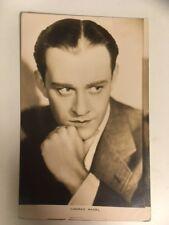 CONRAD NAGEL vintage postcard 1920s Hollywood movie star actor RP