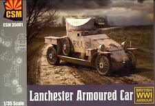 Copper State Models 1/35 British Wwi Lanchester Armored Car