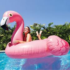 INTEX Mega Schwimmtier Flamingo XXL Schwimmliege Badeinsel Pool Wasserliege