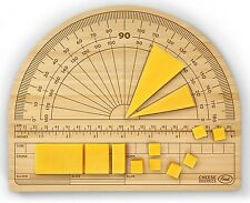 Fred by Kitchen Craft Cheese Degrees Accurate Protractor Serving Chopping Board
