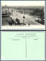 FRANCE Postcard - Paris, Panoramic View of Pont Alexandre III, les Invalides J29