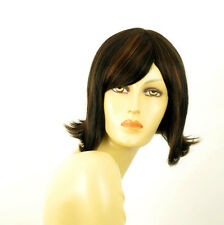 wig for women 100% natural hair black and copper intense ref EMY 1b30 PERUK