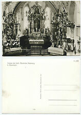 28559 - Kath. Pfarrkirche Höslwang bei Rosenheim - Echtfoto - alte Ansichtskarte