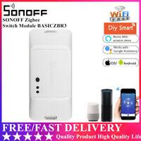 Sonoff BASICZBR3 ZigBee Switch Module WiFi Wireles Smart Home APP Remote DE#