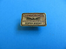 """ GLENMORANGIE "" Scotch Whisky Pin Badge. VGC. Unused. Whiskey. Metal"