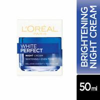 L'Oreal Paris White Perfect Night Cream 50ml Whitening + Even tone Skin