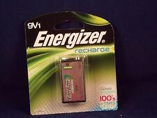 Energizer Recharge 9V Rechargeable Battery NiMH 8.4V 175mAh 1pk NH22NBP