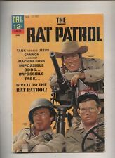 Rat Patrol  #2  TV  WWII comic   photo Covers  Dell
