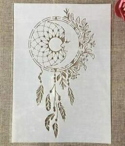 Dreamcatcher Wall Stencil - Reusable Stencil - DIY Home Decor
