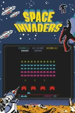 SPACE INVADERS PLAY SCREEN 24x36 POSTER NINTENDO VIDEO GAME ATARI CLASSIC ICONIC