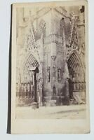 31785CDV Foto Erfurt Eingangspforte Del Dom Um 1870-1880