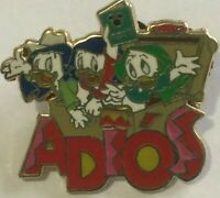 Huey dewey louie Nephews ADIOS spanish HM disney Donald Duck M