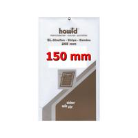 Bandes Hawid double soudure 265 x 150 mm pour blocs, carnets de timbres.