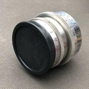 Carl Zeiss for Biotar 2/58mm  slip-on cover for 42mm diameter slip-on lens cap