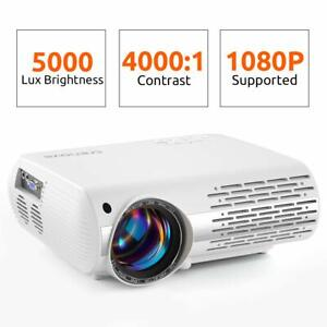 Crenova (Upgraded) XPE660 Video Projector 5000 Lux Home Movie 550 ANSI PS5 HD