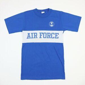 Vtg 70s Air Force Military T-Shirt XL USA Made Artex Soft Thin Single Stitch