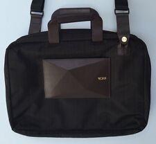 Tumi DROR Laptop Case Computer BRIEF Case Black & Brown 68718ONX  NEW  $595