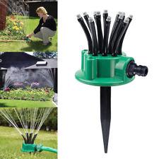 Noodle Head 360 Sprinkler Degree Adjustable Rotating Plant Lawn Impulse Sprink