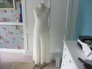 Destination wedding dress and jacket in ivory size 12