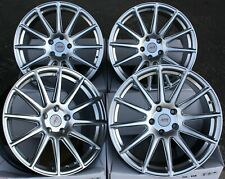 "18"" SILVER 02 ALLOY WHEELS FOR SUBARU FORESTER IMPREZA LEGACY BRZ OUTBACK 5X100"