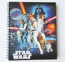 Sketch Book Star War Hardcover 11x8.5 Artist Wire Solid White Pages New
