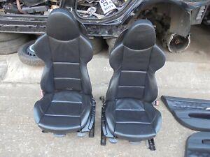 bmw z4 m sport black leather interior/seats fits 2003-2009