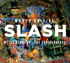 Slash - World On Fire (CD + T-Shirt M) (2014) original verpackt - Neuware