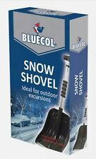 Bluecol - Extendable Snow Shovel Compact Emergency Winter Lightweight Folding