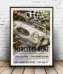MERCEDES-BENZ voiture 2005 cars4154 ART PRINT POSTER A4 A3 A2 A1