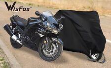 Housse Bache Moto Protection Etanche Anti Uv Scooter Couverture Imperméable Xl