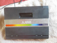 ATARI 7800 CONSOLE & RF ONLY / FULLY WORKING / ASTEROIDS BUILT IN / REPLACEMENT