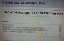 Ipad a5 serial + wifi + bt auto instant reply