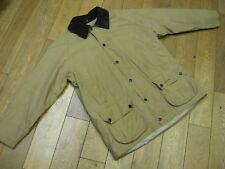 BARBOUR SUMMER BEAUFORT JACKET SIZE:LARGE COLOUR:BEIGE