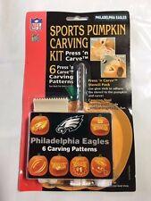 Philadelphia Eagles Halloween Pumpkin Carving Kit NEW! Stencils Jack-o-latern