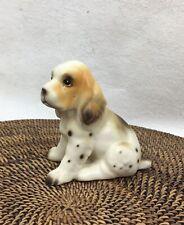 Vintage Brittany Spaniel Puppy Dog Figurine - Japan
