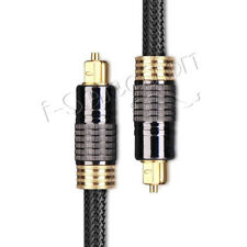 2m Ultra Premium Toslink Optical Cable Gold Plated 5.1 6.1 7.1 7.2 Digital Audio