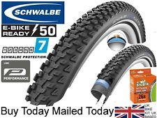 Schwalbe Marathon Plus Mountain Bike 26 x 2.1 Tyre & InnerTubes Tough Smartguard