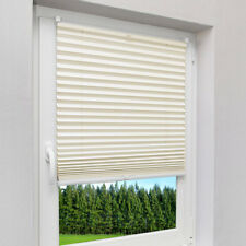 Pleated Blinds Many Sizes Easy Fit Install Conservatory Blinds Day and Night Beige 70 X 125cm