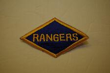 a0139v WW2 US Army Ranger Diamond Shoulder Patch R4B