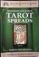 BRAND NEW! DESIGNING YOUR OWN TAROT SPREADS COVERS MANY TOPICS OUT OF PRINT!