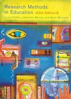 Research Methods in Education (5th Edition),Louis Cohen,Lawrence Manion,Keith M