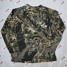 Mossy Oak Camo Long Sleeve Adult Medium