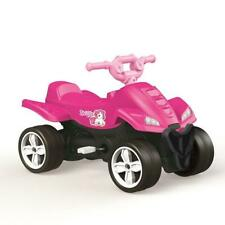 Dolu Unicorn Kids Pedal Operated Quad Car Ride On Toy Girls Pink 3 Years + 2565
