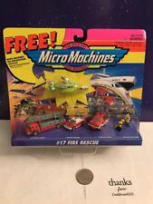 Micro Machines Fire Rescue #17 NEW 1996
