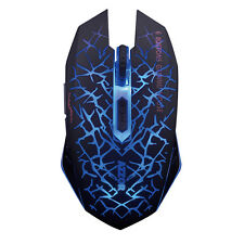 M6 Rechargeable 2.4GHz Wireless 6 Buttons Silent LED Light Usb PC Gaming Mouse