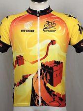 China Tour Max Hurzeler Unisex Cycling Jersey Full Zip Air China Jacket
