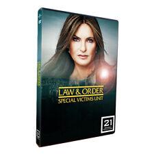 LAW AND ORDER SVU SEASON 21  NEW & SEALED  REGION ONE