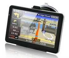 7'', 8GB,800MHZ,256M, Car/Truck/Taxi UK EU map languages GPS Navigation SAT